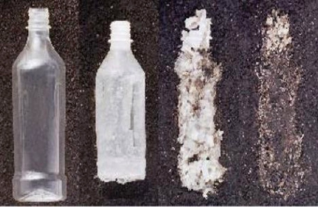 Scientists are racing to find new ways to remove and recycle plastics from the environment