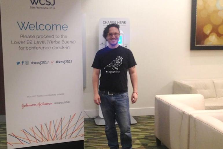 Nicolas Gutierrez attending WCSJ2017