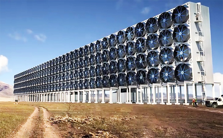 Researchers are building machines to capture carbon from atmosphere